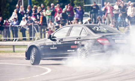 Mercedes Benz Drift