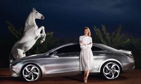 Karlie Kloss Mercedes-Benz Fashion