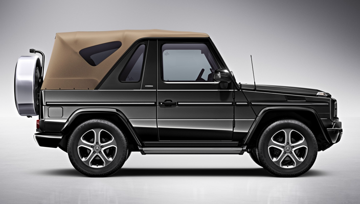 Mercedes benz g class cabriolet e final edition ile veda for Mercedes benz g class cabriolet