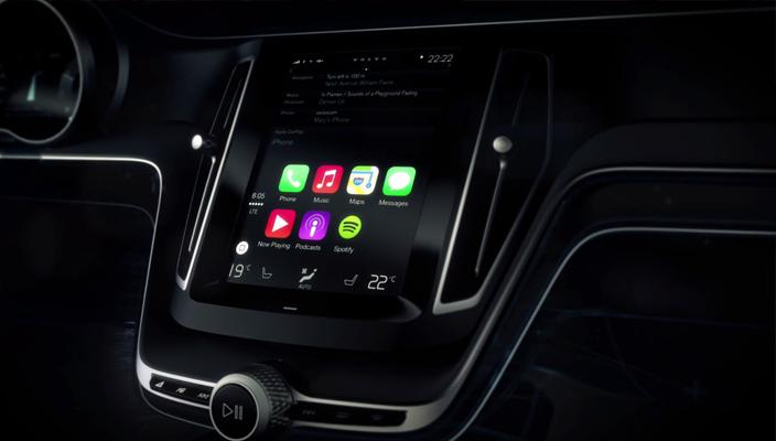 Volvo CarPlay Apple