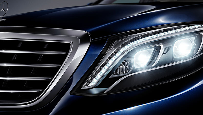 Mercedes-Benz LED Sistem S-Seri
