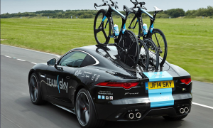 Jaguar F-Type Coupe Tour de France