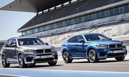 BMW X5M & X6M (2015)