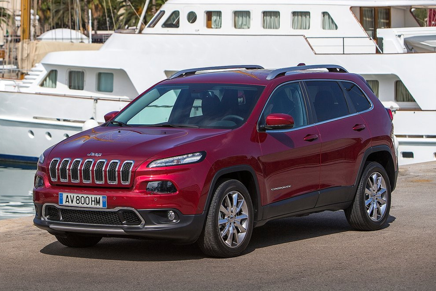Test: Jeep Cheroke (2015)