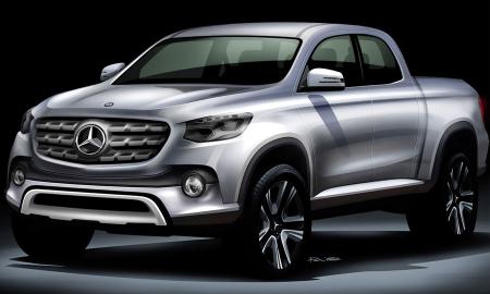 Mercedes Benz Pick-Up 2017