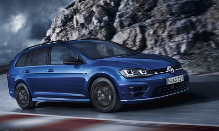VW Golf R Wagon Wolfsburg Edition