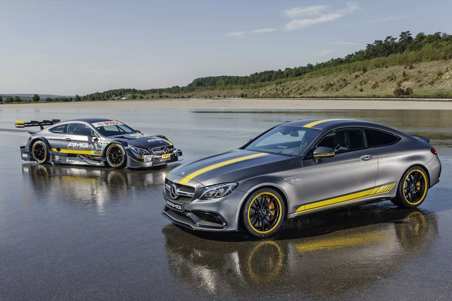 Mercedes-Benz AMG C63 Coupe Edition 1