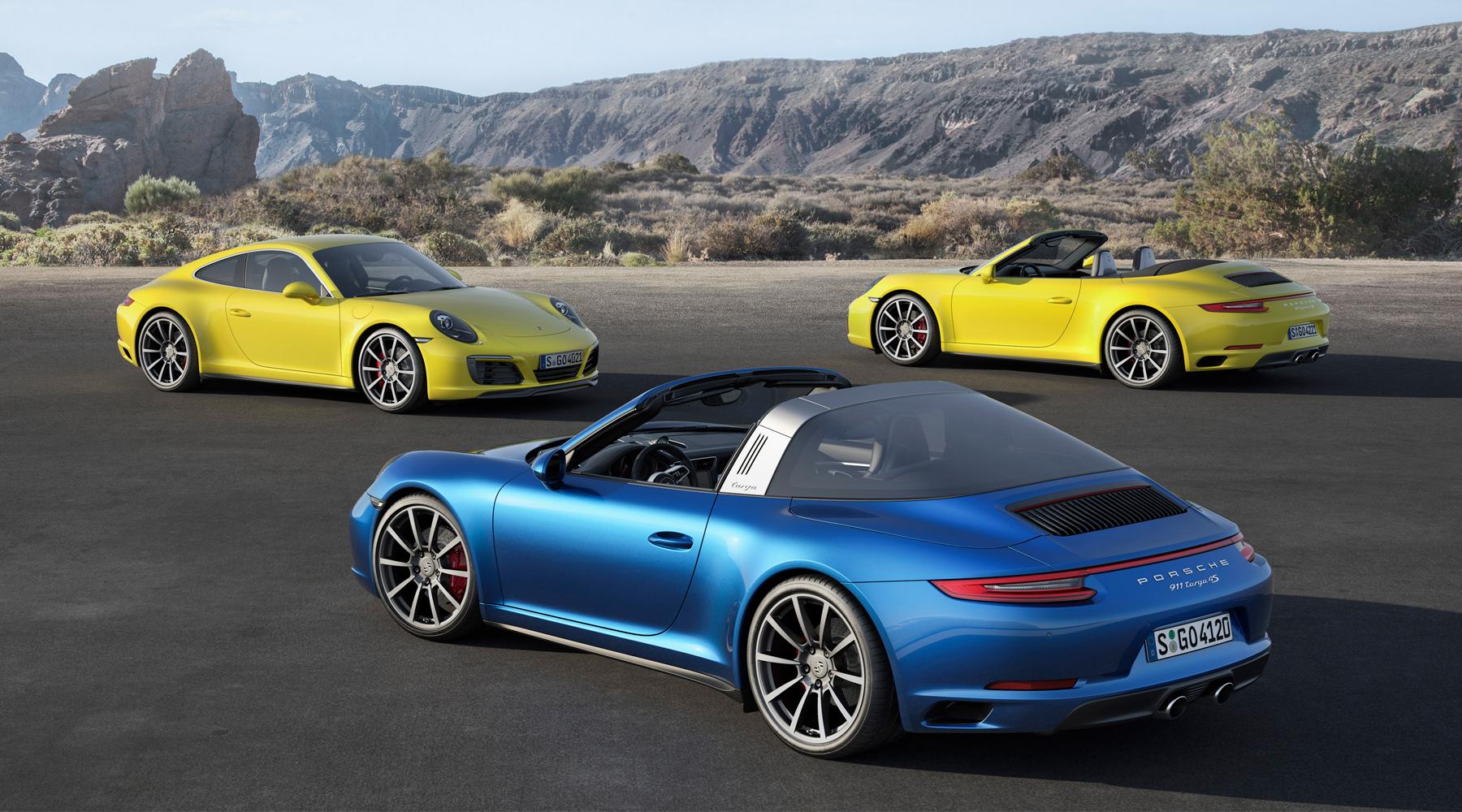 Porsche Carerra 4 (2015)