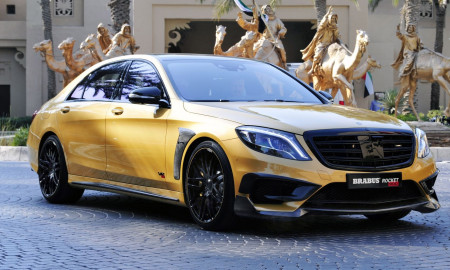 Brabus Mercedes-Benz S-Serisi 'Rocket Desert Gold Edition'