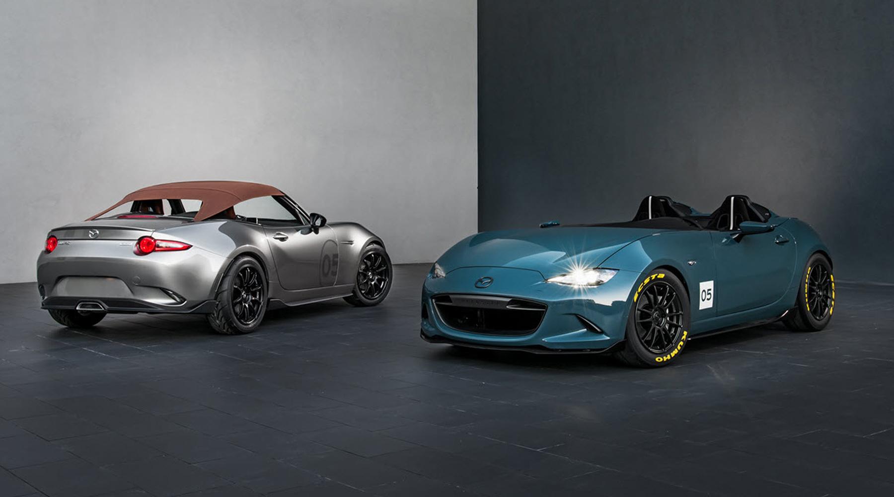Mazda MX-5 Spyder and MX-5 Speedster