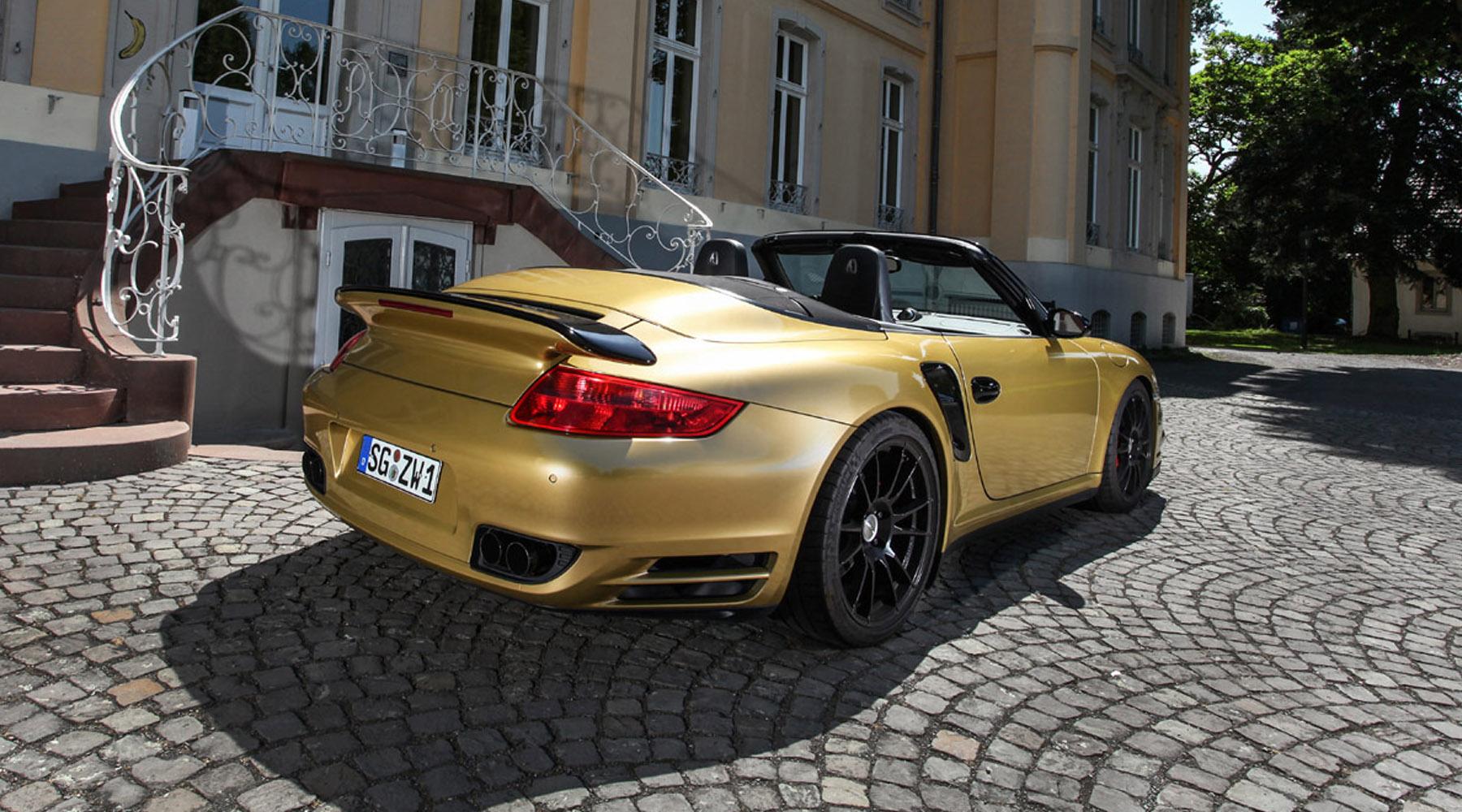 Wimmer Porsche Turbo Cabrio 911
