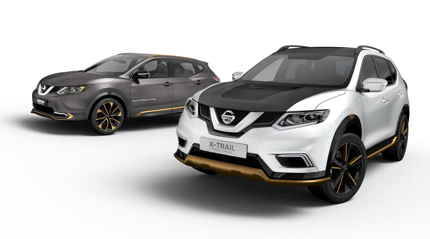 Nissan Qashqai ve X-Trail Premium Concept