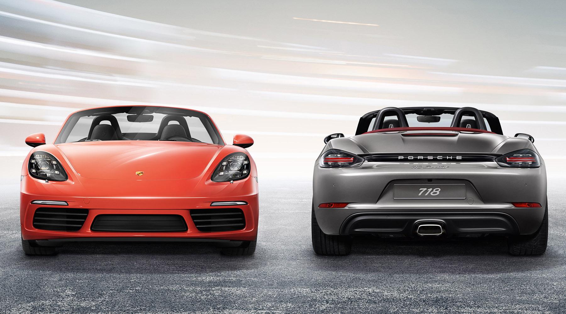 Porsche 718 Boxster & Boxster S