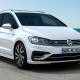 VW Golf Sportsvan R-Line