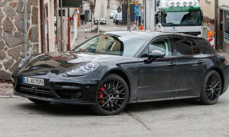 Porsche Panamera Shooting Brake 2017