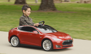 Radio Flyer Tesla Model S