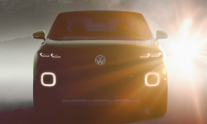 VW Polo SUV 2016 Teaser