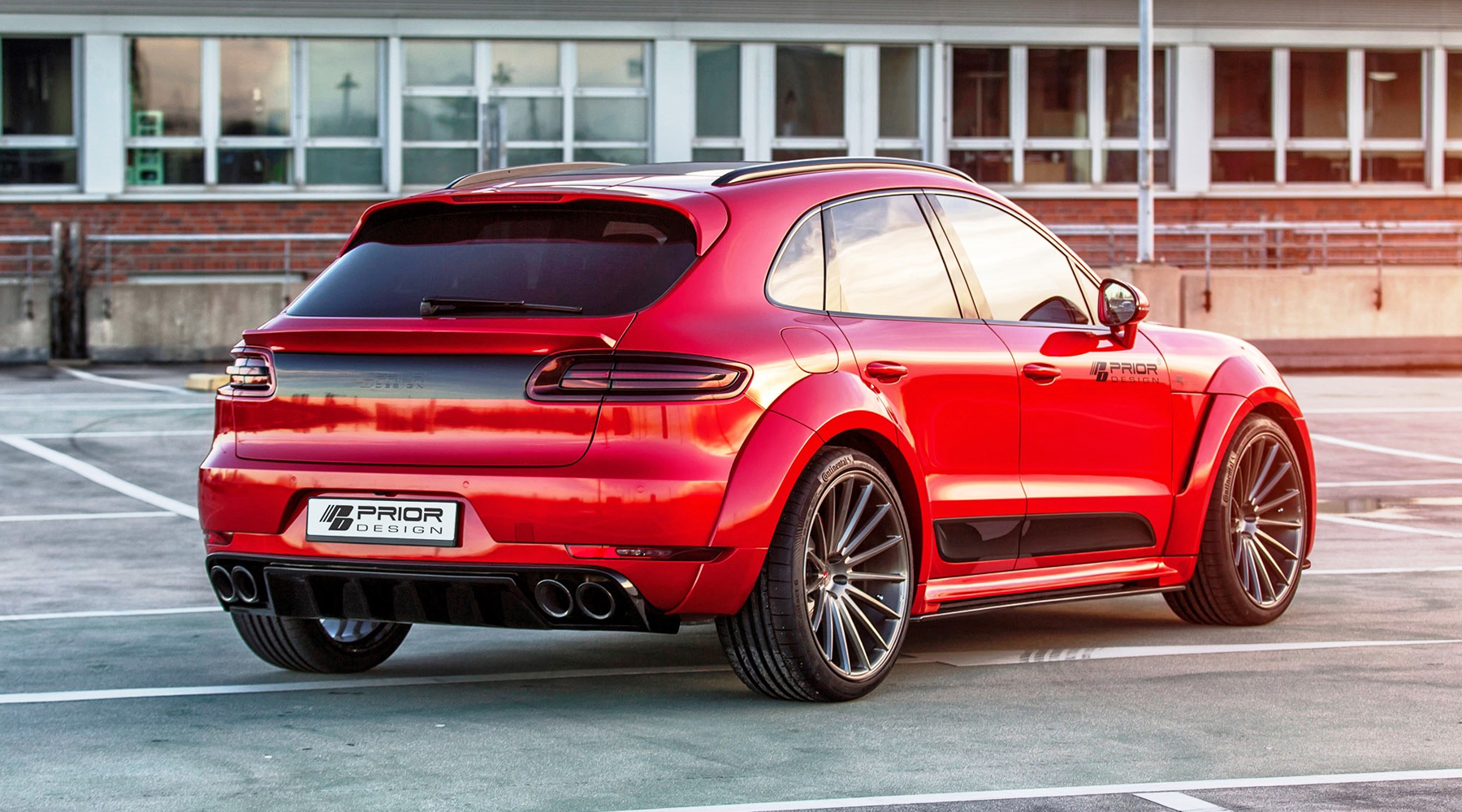 Prior Design Porsche Macan PD600M